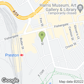 Map of Stephen Smith Decorators Ltd in Preston, lancashire