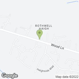 Map of Rothwell Garden Centre in Rothwell, Leeds, west yorkshire