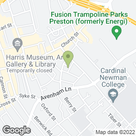 Map of UKPS (NW) Ltd in Preston, lancashire