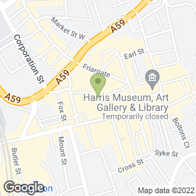 Map of Phones 4 U in Preston, lancashire