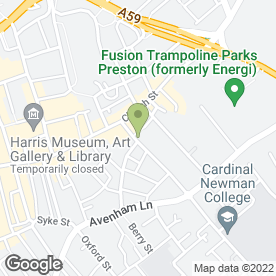 Map of Guild Taxis in Preston, lancashire
