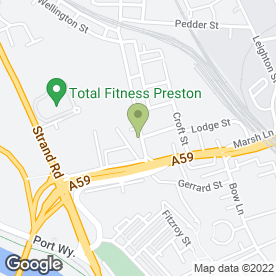 Map of The Removal Team in Preston, lancashire