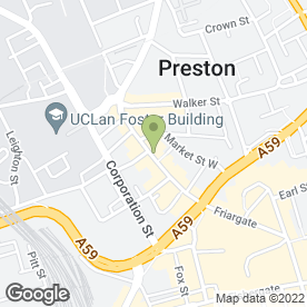 Map of Iphone Repair in Preston in Preston, lancashire