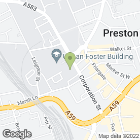 Map of designlabuk in Preston, lancashire