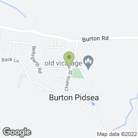 Map of Burton Pidsea Primary School in Burton Pidsea, Hull, north humberside