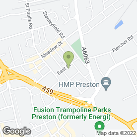 Map of Dr Binoy Kumar in Preston, lancashire