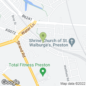 Map of DJ Paul Johnson in Preston, lancashire