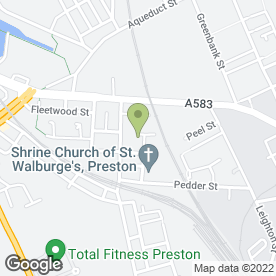 Map of Reid Creative in Ashton-on-Ribble, Preston, lancashire