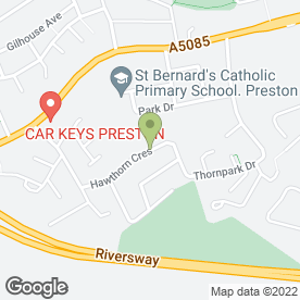 Map of Arco Service & Snape Alarms in Lea, Preston, lancashire