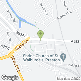 Map of PRESLEC in Ashton-On-Ribble, Preston, lancashire