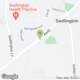 Map of Cartronics in Swillington, Leeds, west yorkshire