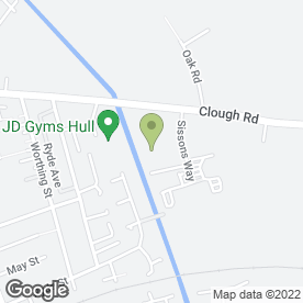 Map of Dunelm Mill in Hull, north humberside