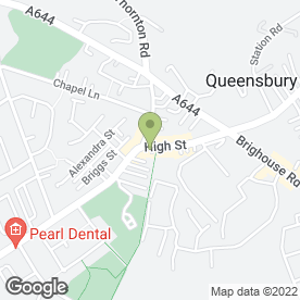 Map of CSM in Queensbury, Bradford, west yorkshire