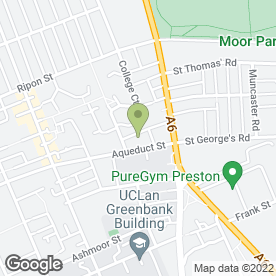 Map of J & A Blinds in Preston, lancashire