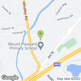 Map of AAAAAA. Call T.T.Plumbers in Accrington, lancashire