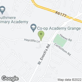 Map of Haycliffe School in Bradford, west yorkshire