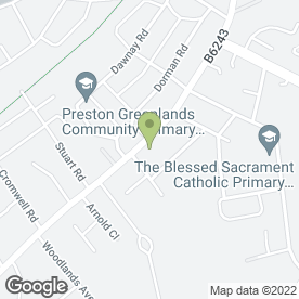 Map of Simply Learners Driving School in Preston, lancashire