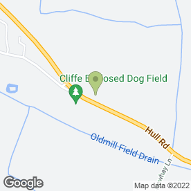 Map of Steve Pulleyne Garden Maintenance in Cliffe, Selby, north yorkshire