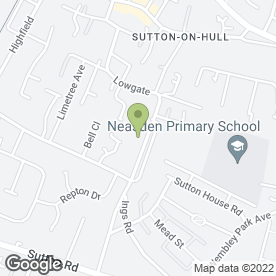 Map of GARY MYERS in Sutton-on-Hull, Hull, north humberside