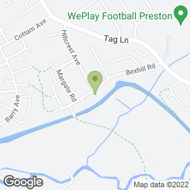 Map of M W Access Platform Hire in Ingol, Preston, lancashire