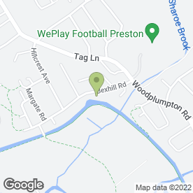 Map of Kjb Security Installation Engineers in Ingol, Preston, lancashire