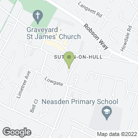 Map of Classic Creations in Sutton-on-Hull, Hull, north humberside