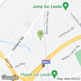 Map of Econofreeze Refrigeration Ltd in Leeds, west yorkshire