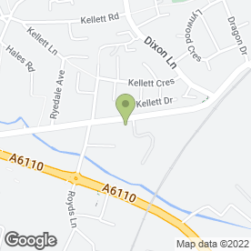 Map of RON SMITH TURF & SOLID FUEL in Leeds, west yorkshire