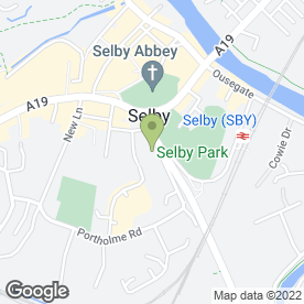 Map of Selby Area Internal Drainage Board in Selby, north yorkshire