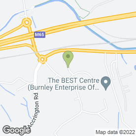 Map of Hardy Access Services in Hapton, Burnley, lancashire