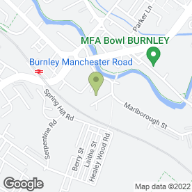 Map of Alan Howard Hair & Beauty Supplies in Burnley, lancashire