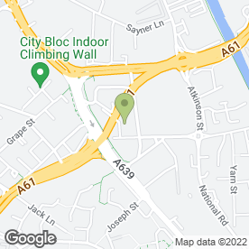 Map of AE Industrial & Air Equipment Ltd in Hunslet, Leeds, west yorkshire