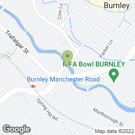Map of P3 Computer Services Ltd in Burnley, lancashire