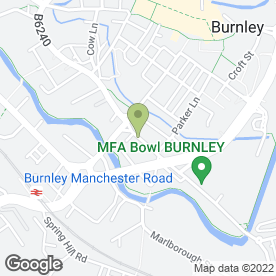 Map of Smith Jones in Burnley, lancashire