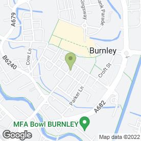 Map of Waddington & Son in Burnley, lancashire