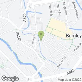 Map of Rewind in Burnley, lancashire