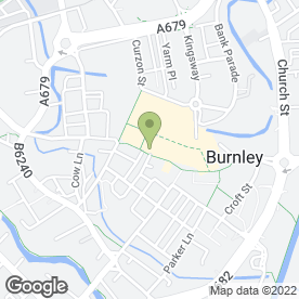 Map of NatWest Bank plc in Burnley, lancashire
