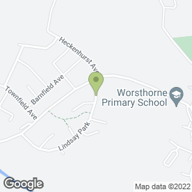 Map of WORSTHORNE DENTAL PRACTICE in Worsthorne, Burnley, lancashire
