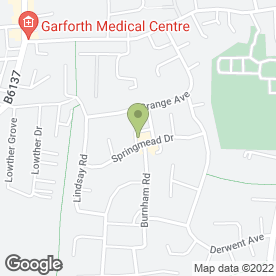 Map of BEECHWOOD VETERINARY GROUP LIMITED in Garforth, Leeds, west yorkshire