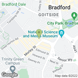 Map of Alif Baa Childcare in Bradford, west yorkshire