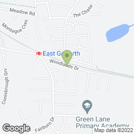 Map of Bradley Plumbing Services in Garforth, Leeds, west yorkshire