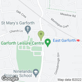 Map of Sweet Peas Day Care & Teaching Nurseries Ltd in Garforth, Leeds, west yorkshire