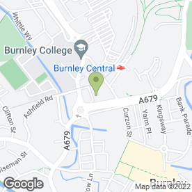 Map of PC World in Burnley, lancashire