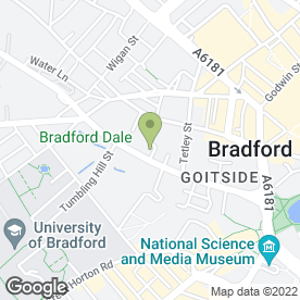 Map of 3d City Signs Ltd in Bradford, west yorkshire