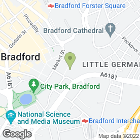 Map of Timpson Locksmith & Safe Engineers in Bradford, west yorkshire