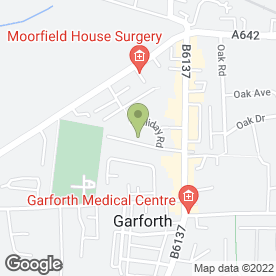 Map of Your White Wedding in Garforth, Leeds, west yorkshire