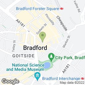 Map of McDonald's Restaurants Ltd in Bradford, west yorkshire