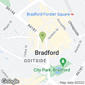 Map of J & J Harrop in Bradford, west yorkshire