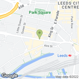 Map of Appetite Deli in Leeds, west yorkshire
