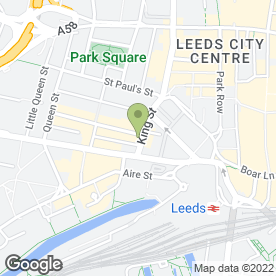 Map of Caroline Lloyd in Leeds, west yorkshire